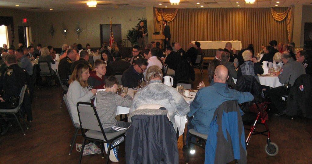 Law Enforcement Executive Awards Banquet on February 6, 2019.