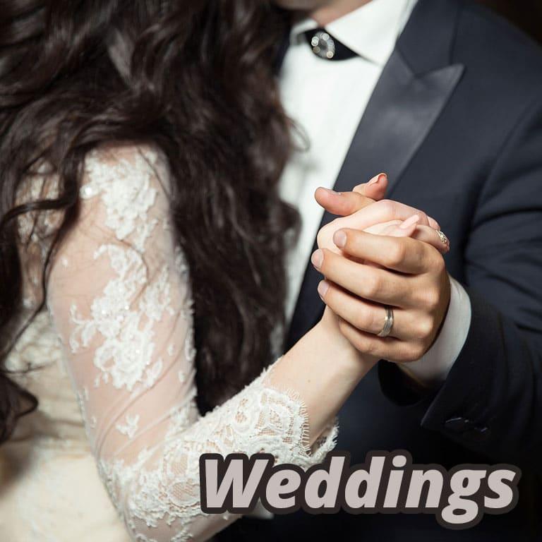 Avenue 795 wedding receptions.