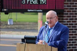 Allen Buechel dedication speech at Avenue 795 on 10/09/20.